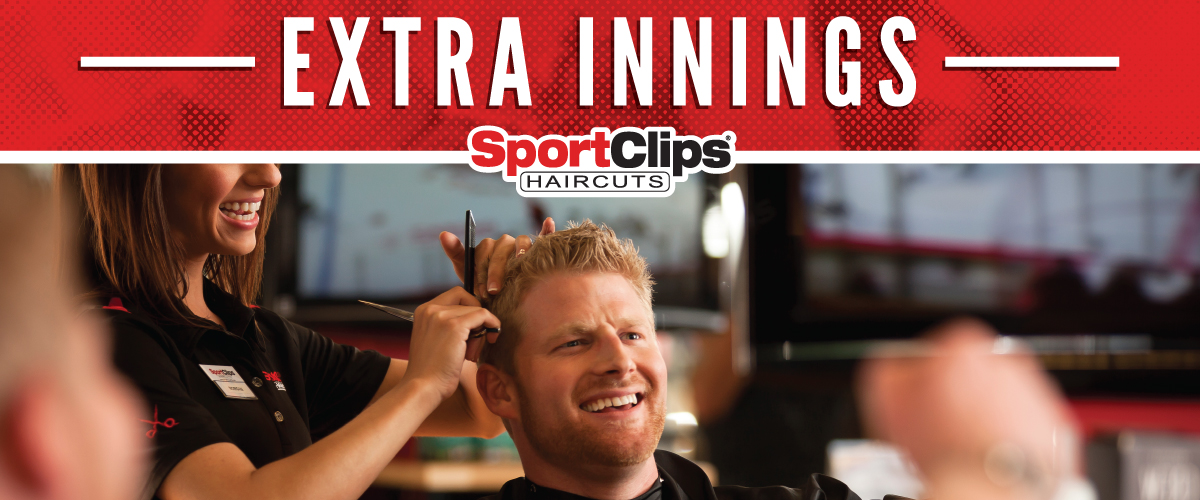 The Sport Clips Haircuts of Shallowford Falls Extra Innings Offerings