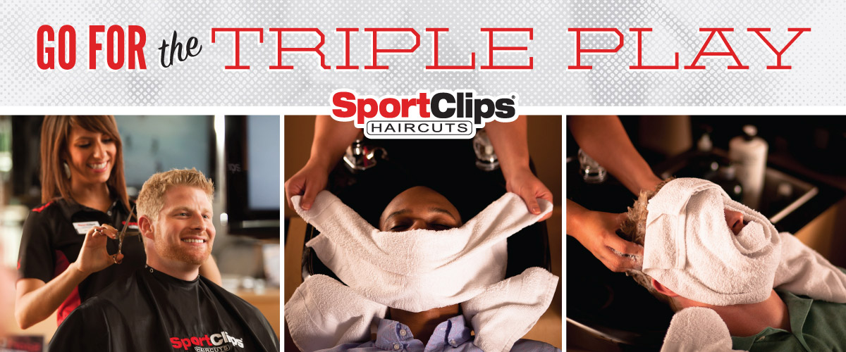 The Sport Clips Haircuts of Shallowford Falls Triple Play